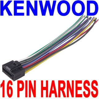 Newly listed KENWOOD WIRE WIRING HARNESS 16 PIN CD RADIO STEREO