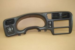 JIMMY CLUSTER RADIO DASH BEZEL TRIM SINGLE DIN (Fits 2001 Chevrolet