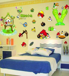 Birds Removable Wall Sticker Nursery Decor Decal Kids Art Mural II