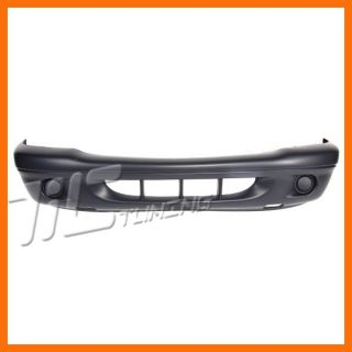 04 DODGE DAKOTA FRONT BUMPER COVER SLT SXT SPORT BLACK RAW REPLACEMENT