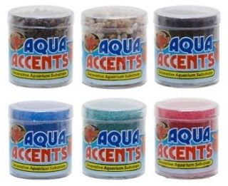 Aquarium Sand Aqua Accents Betta / Fish Tank Black BA 3