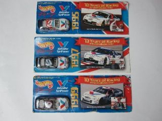 Hot Wheels Roush Racing Valvoline Cars Lot 95 97 99