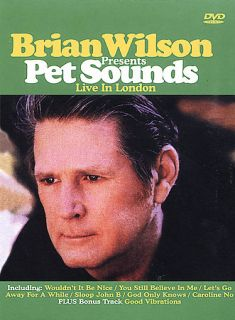Brian Wilson Presents Pet Sounds Live in London DVD, 2003