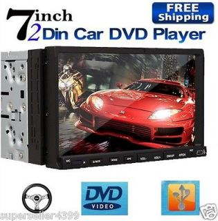 Din 7 Touch Screen Car Stereo DVD Player Radio Hitachi CD Head