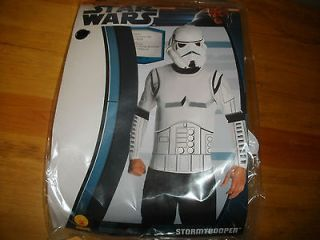 HALLOWEEN COSTUME NEW MANS STAR WARS STORM TROOPER LARGE (36 38)