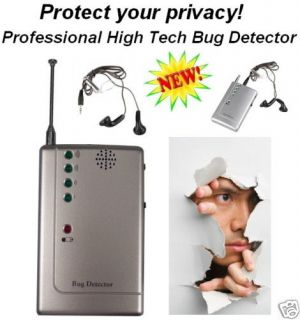 Pro Spy Detector Detec​ts bug,cell phone jammer,camera