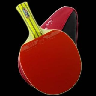 729 Carbon Composite Table Tennis/Ping Pong Bat Flared with Case