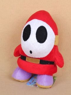 Super Mario Bros 5 Boo Ghost Soft Stuffed Plush Doll Toy White Action