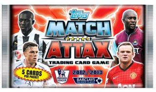 Topps Match Attax Cards 2012/13, Star Players, Legends & Signings, 50p