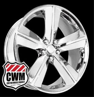 Dodge Challenger SRT8 Style Chrome Wheels Rims for Chrysler 300 2009