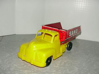 VIntage 1950s Marx Sand and Gravel Dump Truck