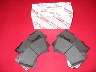 TOYOTA TUNDRA SEQUOIA 07 12 GENUINE OEM FACTORY F FRONT BRAKE PADS