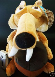 Limited Large Ice Age Scrat Plush Doll Soft Toy   NEW