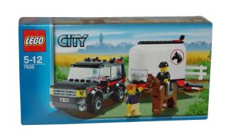 Lego City Farm 4WD with Horse Trailer 7635