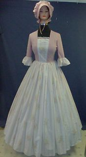 Colonial Southern Belle Civil War Costume Dress Ladies 8 (9337