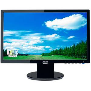 ASUS VE198T 19 Widescreen LED LCD Monitor, built in Speakers