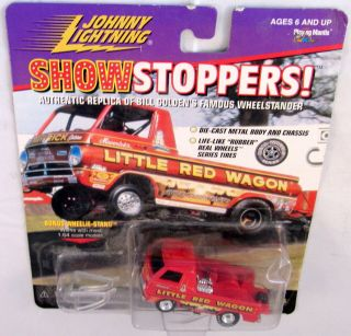Lightning JL Show Stoppers 1988 Bill Goldens Little Red Wagon 1/64