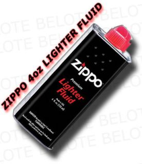 Genuine Zippo 4 oz.118ml Lighter Fluid Fuel FREE SHIP