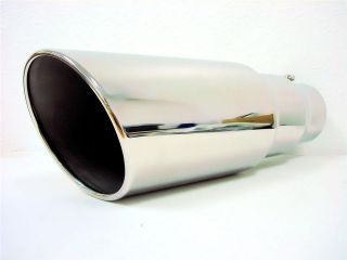 DIESEL Exhaust Tip 4 ID 6OD FORD DODGE CHEVROLET GMC