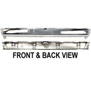 New Step Bumper Rear Chrome Toyota 4Runner 4 Runner 95 1995 TO1102119