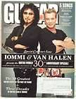GUITAR WORLD MAGAZINE TONY IOMMI VAN HALEN METALLICA MUSE NIRVANA VERY