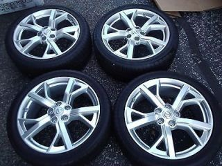 2009 13 NISSAN MAXIMA OEM 19 SPORT WHEELS AND GOODYEAR TIRS 245/40/19