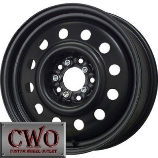 15 Black Unique 83 Wheels Rims 5x108/5x114.3 5 Lug Ford Jaguar Nissan