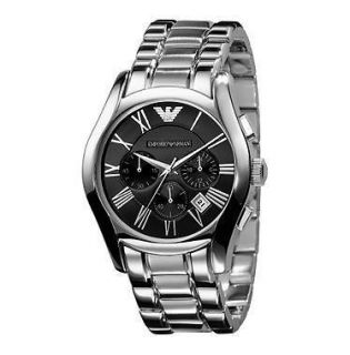 Emporio Armani Mens AR0673 Stainless Steel Chronograph Watch