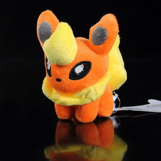 NEW TAKARA TOMY Pokemon Pikachu 6 FLAREON Plush Figure Doll Toy R1