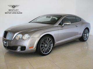 Bentley  Continental GT Speed Orig MSRP $218,265; Silver Tempest