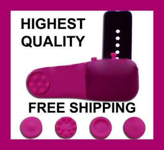 FULL BODY Pink Personal Finger Massager Head Neck Back Foot Leg Free