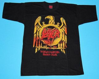 slayer tour shirt in Clothing,