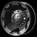16 Inch Black Wheels Rims Ford F 350 F350 Dually XD Rockstar XD775