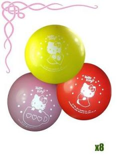 Sanrio Hello Kitty Birthday Party Supply Balloon 8x Imprint Balloons