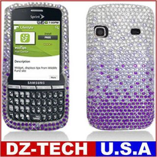 Bling Hard Case Cover for Sprint Boost Mobile Samsung Replenish M580
