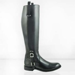 DG LADIES BUCKLE DRESS TALL HORSE RIDING FASHION BOOTS