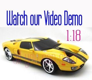 Weekly DEALS 1/18 Scale RC Radio Remote Control Ford GT Super Racing