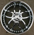 406 22 CHROME RIMS WHEELS CADILLAC CTS STS DTS GM / 22 X 8.5 5H +35