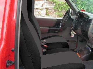 FORD RANGER 60/40 HIGH BACK CAR SEAT COVERS black charcoal ,MORE