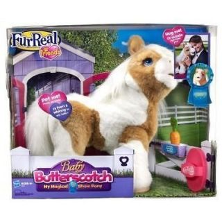 FURREAL Fur Real FRIENDS BABY BUTTERSCOTCH MY MAGICAL SHOW PONY NEW