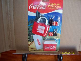 Coca Cola food fun accessories COOLER BEACH BAG coke goes with 11 1/2