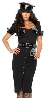 Sexy Cop Dress Police Officer Uniform Halloween Costume