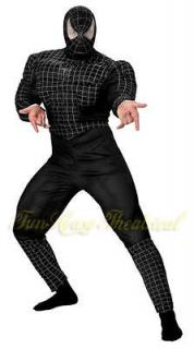 SPIDER MAN BLACK VENOM HALLOWEEN COSTUME Jumpsuit Deluxe Teen 6616