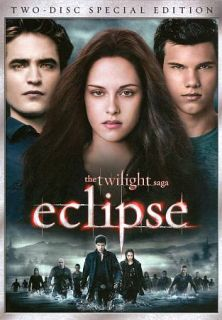 The Twilight Saga Eclipse DVD, 2010, Special Edition