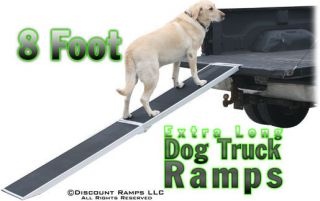 EXTRA LONG PORTABLE FOLDING DOG CAT RAMP PET RAMPS (DR 08)