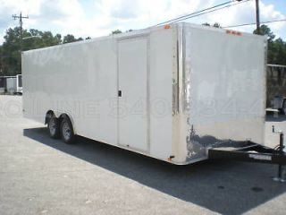 CARGO ENCLOSED CAR AUTO HAULER RACE TRAILER RACER 102X24 DEXTER
