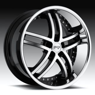 Niche 22 inch ESSENCE RIMS Wheels & TIRES Package for Dodge Magnum RWD