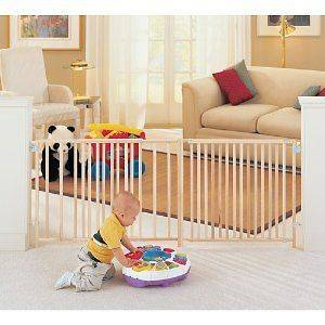 Baby Gate EXTRA WIDE LARGE Child Toddler Pet Dog North States Thru