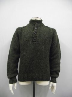 MENS 100% DONEGAL WOOL KNIT SWEATER