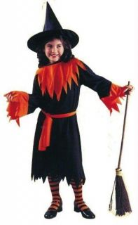 Wendy the witch, child, halloween, dress up, girl costume, one size